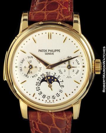 PATEK PHILIPPE 3974 J MINUTE REPEATER PERPETUAL CALENDAR 18K