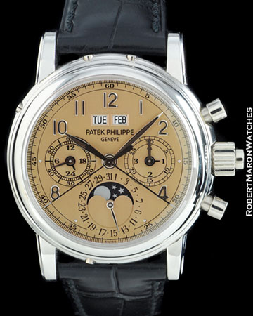PATEK PHILIPPE 5004 P SPLIT SECOND PERPETUAL CHRONOGRAPH PLATINUM