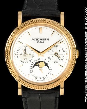 PATEK PHILIPPE 5039 R PERPETUAL CALENDAR 18K ROSE
