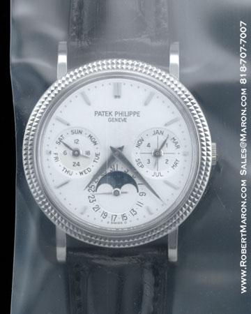 PATEK PHILIPPE PERPETUAL CALENDAR MOONPHASE 5039 G
