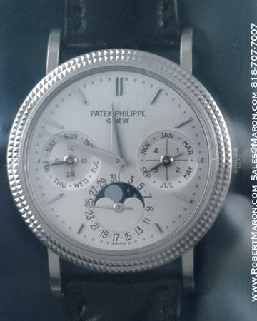 PATEK PHILIPPE PERPETUAL CALENDAR MOONPHASE 5039 G 18K