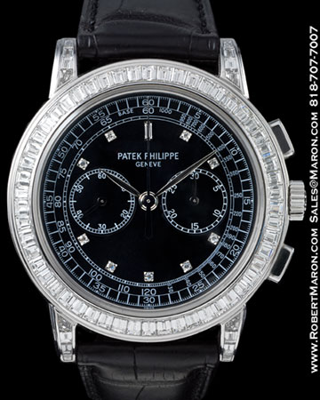 PATEK PHILIPPE 5071 G CHRONOGRAPH 18K DIAMONDS