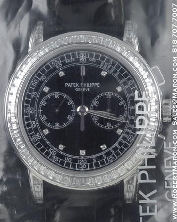 PATEK PHILIPPE 5071 G CHRONOGRAPH WITH DIAMONDS