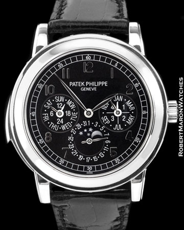 PATEK PHILIPPE 5074 P PERPETUAL MINUTE REPEATER PLATINUM NEW