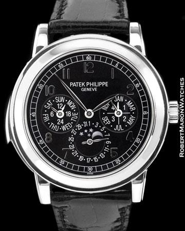 PATEK PHILIPPE 5074 P PERPETUAL MINUTE REPEATER PLATINUM