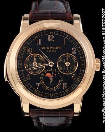 PATEK PHILIPPE 5074 R MINUTE REPEATER CHRONOGRAPH  18K