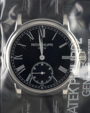 PATEK PHILIPPE 5078 P BLACK MINUTE REPEATER PLATINUM