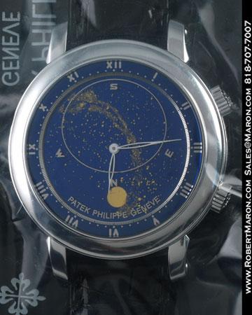 PATEK PHILIPPE CELESTIAL 5102 18K WHITE GOLD NEW