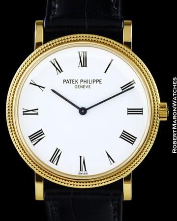 PATEK PHILPPE 5120 J CALATRAVA 18K