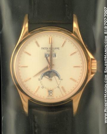 PATEK PHILIPPE WEMPE W125 5125 R 18K ROSE GOLD