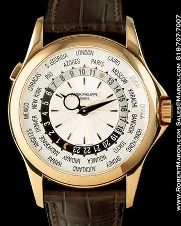 PATEK PHILIPPE 5130 R WORLD TIME 18K