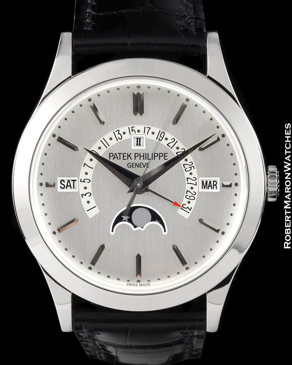 PATEK PHILIPPE 5496P PLATINUM RETROGRADE AUTOMATIC PERPETUAL CALENDAR SEALED NEW