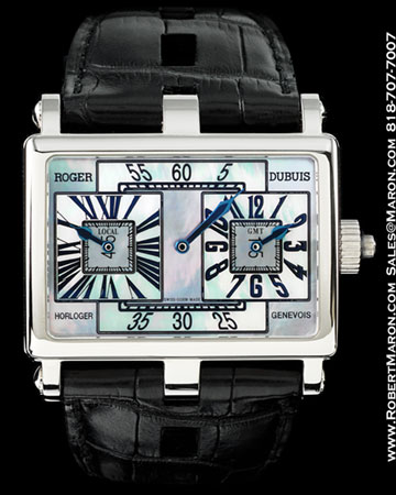 """ROGER DUBUIS """"TOO MUCH GMT"""" 18K"""