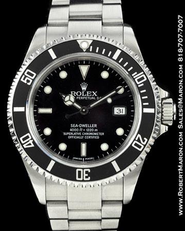 ROLEX 16600 SEA DWELLER STEEL
