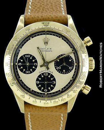 ROLEX VINTAGE DAYTONA 6239 PAUL NEWMAN 18K CHRONOGRAPH 1967