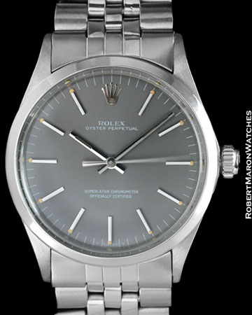 ROLEX 1002 OYSTER PERPETUAL STEEL
