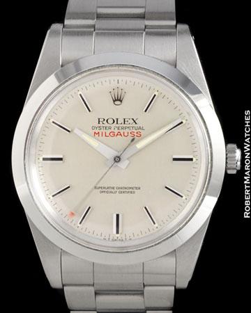 ROLEX 1019 MILGAUSS STEEL