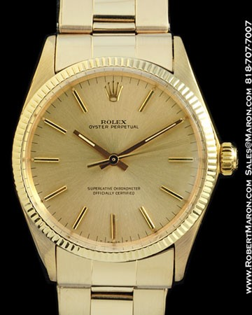 ROLEX 1023 OYSTER PERPETUAL 14K