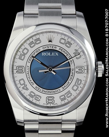 ROLEX 116000 OYSTER PERPETUAL STEEL