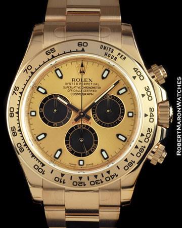 ROLEX 116505 DAYTONA EVEROSE CHRONOGRAPH 18K ROSE GOLD