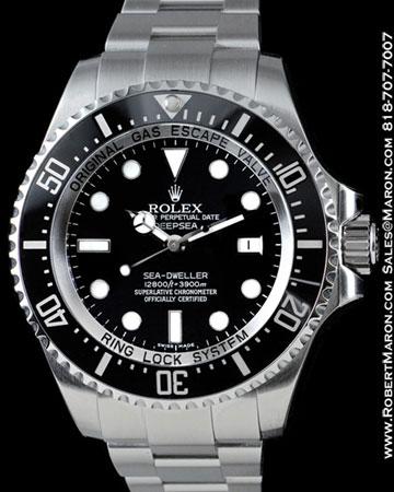 ROLEX 116660 SEA DWELLER DEEP SEA STEEL