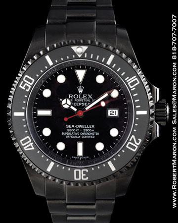 ROLEX 116660 SEA-DWELLER DEEP SEA BLACK STEEL