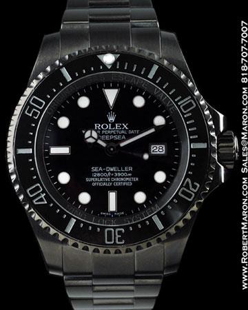 ROLEX 116660 SEA-DWELLER DEEPSEA PVD STEEL