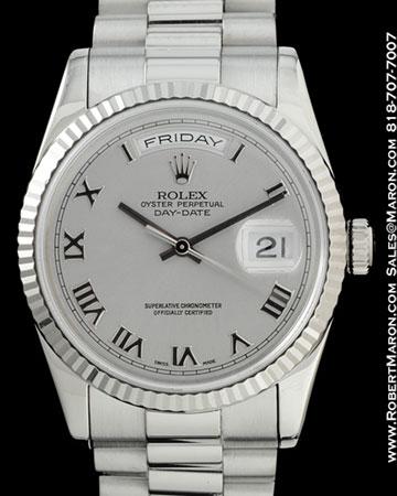 ROLEX 118239 DAY DATE PRESIDENT 18K