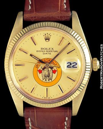 ROLEX 1503 OYSTER PERPETUAL DATE UAE 14K