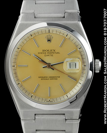 ROLEX 1530 OYSTER PERPETUAL DATE STEEL