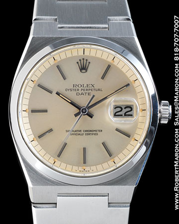 ROLEX 1530 OYSTER PERPETUAL DATE AUTOMATIC STEEL