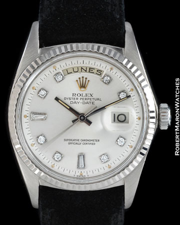 ROLEX 1803 DAY DATE DIAMONDS 18K