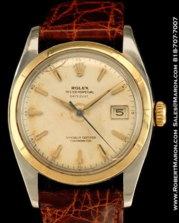 ROLEX 6105 OYSTER PERPETUAL DATEJUST