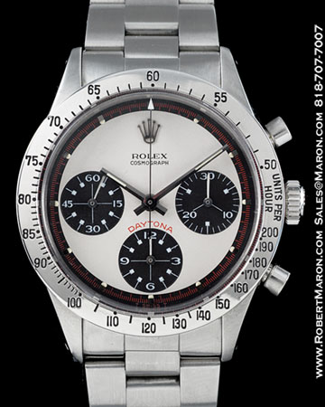 ROLEX 6239 COSMOGRAPH DAYTONA PAUL NEWMAN STEEL :: All ...
