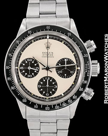 ROLEX VINTAGE DAYTONA 6263 MARK 1 PAUL NEWMAN PANDA TROPICAL 1970