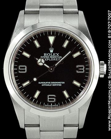 ROLEX 114270 EXPLORER 1 STEEL