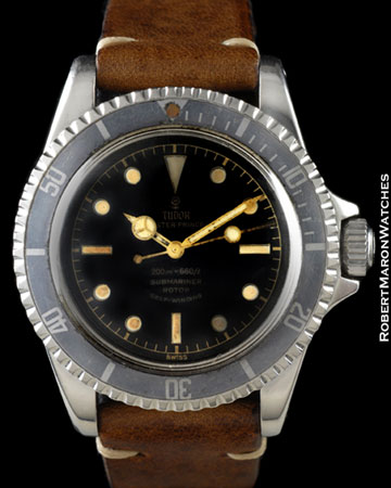 TUDOR 7928 SUBMARINER GILT STEEL
