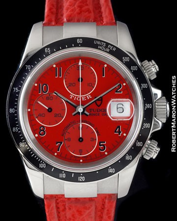 TUDOR 79260 PRINCE DATE TIGER CHRONOGRAPH STEEL