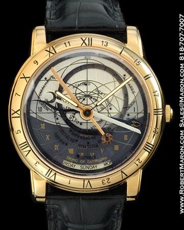 ULYSSE NARDIN TRILOGY SET ASTROLABIUM GALILEO GALILEI 18K