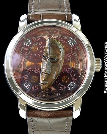 VACHERON CONSTANTIN CONGO MASK PLATINUM AUTOMATIC LIMITED NEW