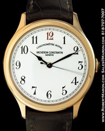 VACHERON CONSTANTIN CHRONOMETRE ROYAL 18K