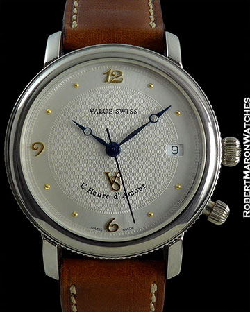 VALUE SWISS L' HEURE d' AMOUR EROTIC WATCH