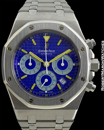 "AUDEMARS PIGUET 25860js ROYAL OAK ""CITY OF SAILS"" BOX/PAPERS"