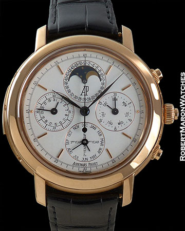 AUDEMARS PIGUET REF 25866 JULES AUDEMARS GRAND COMPLICATION 18K ROSE GOLD