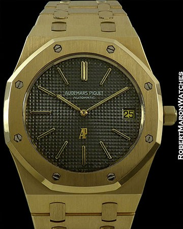 AP 5402J/8 JUMBO GOLD ROYAL OAK