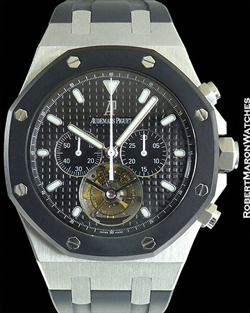AUDEMARS PIGUET ROYAL OAK XL TOURBILLON CHRONOGRAPH STEEL