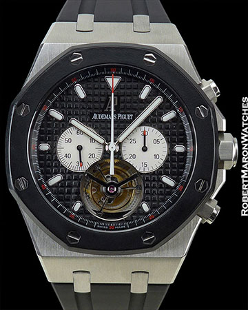 AUDEMARS PIGUET ROYAL OAK TOURBILLON CHRONOGRAPH STEEL LIMITED EDITION OF 5