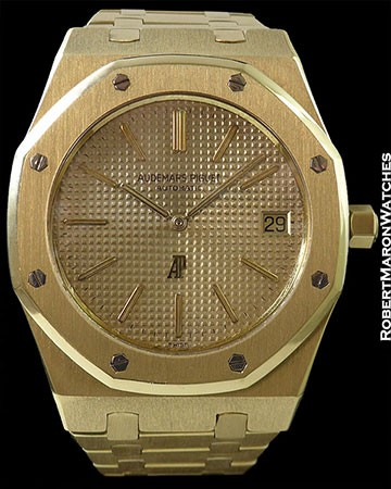 AP 5402 ROYAL OAK 18K YG AUTOMATIC