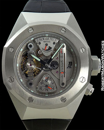 AP TANTALUM CONCEPT 1 TOUBILLON 12 DAY POWER RESERVE