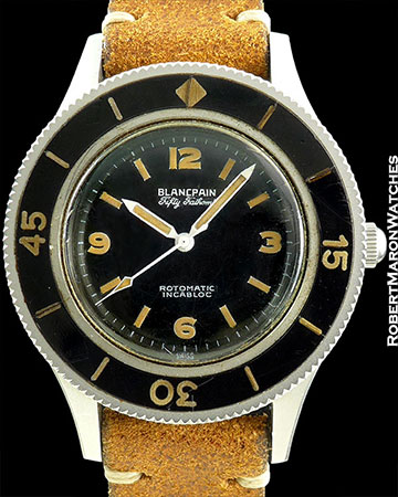 BLANCPAIN FIFTY FATHOMS STEEL